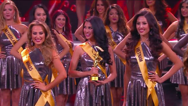 Vietnamese contestant makes top 20 Miss Grand International 2016