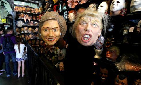 Mặt nạ Donald Trump bán chạy mùa Halloween