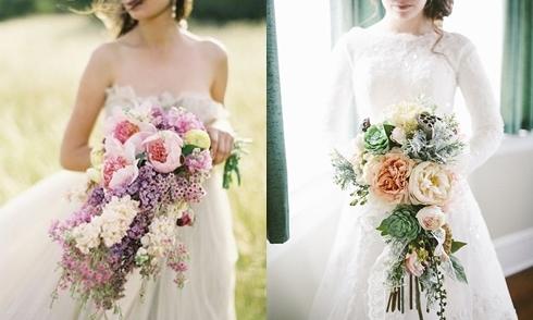 Cách cầm hoa cưới tôn dáng ít người biết