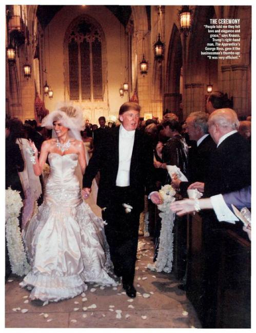 [Caption]Donald Trump đã khiến dư luận nước Mỹ phải một phen xôn xao khi chi gần 50 triệu đô la cho đám cưới lần thứ ba của mình.