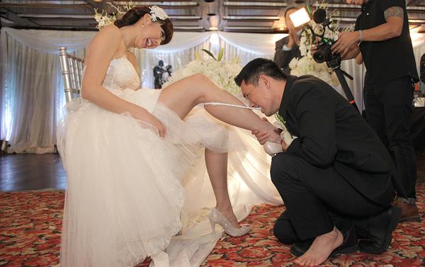 Những đám cưới hoành tráng trên đất Mỹ của sao Việt