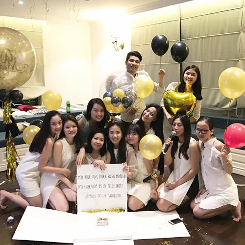 Tiệc độc thân với hội 'chị em bạn dì' của MC Mai Ngọc