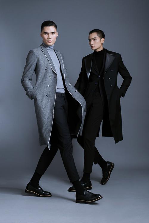 Áo khoác 'sang chảnh' cho nam giới