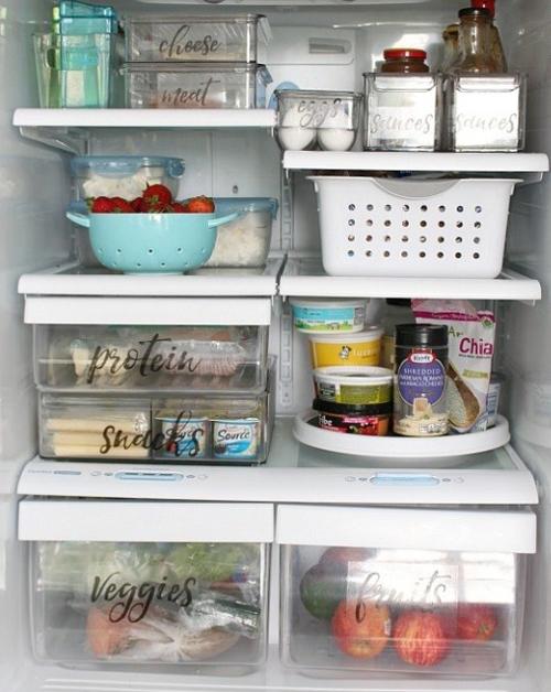 12 chiêu sắp xếp tủ lạnh thông minh, tiết kiệm diện tích - ảnh 4