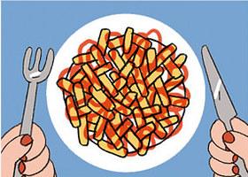 Mỗi cách rưới ketchup ẩn chứa một điều thú vị về bạn - ảnh 1