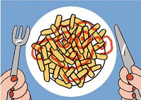 Mỗi cách rưới ketchup ẩn chứa một điều thú vị về bạn - ảnh 6