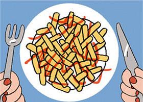 Mỗi cách rưới ketchup ẩn chứa một điều thú vị về bạn - ảnh 7