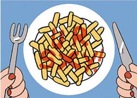 Mỗi cách rưới ketchup ẩn chứa một điều thú vị về bạn - ảnh 4