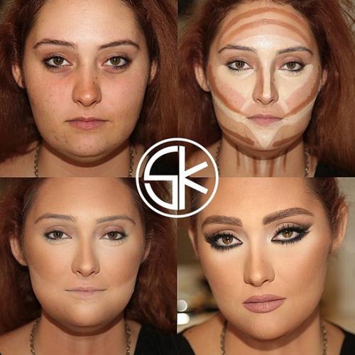 Samer Khouzami chia sẻ, để có thể tạo khối đẹp, đầu tiên, bạn cần xác định chính xác 5 điểm của khuôn mặt. Đó là vùng