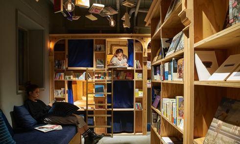 Khách sạn 'trốn đời' dành cho những con mọt sách ở Nhật