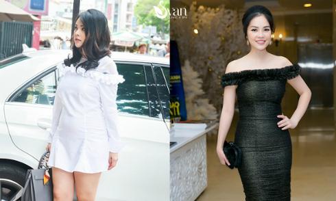 Nỗ lực giảm 15kg của Dương Cẩm Lynh sau sinh 1,5 tháng