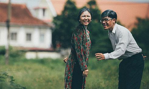 Bộ ảnh cưới 'tình yêu thời ông bà' của cặp đôi 9X Sài Gòn