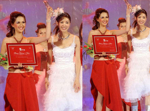 Ngọc Trinh đạt giải Siêu mẫu ăn ảnh trong cuộc thi Siêu mẫu Việt Nam và bước đầu chập chững bước vào làng catwalk chuyên nghiệp