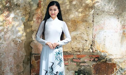 3 mẫu áo dài lụa giúp tôn eo thon cho tân nương