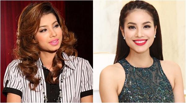 Hoa hậu Hoàn vũ Phạm Hương cũng thay đổi khá nhiều