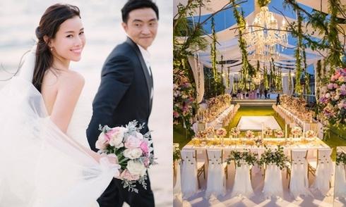 Minh tinh TVB mang cả 'xứ sở thần tiên' vào đám cưới