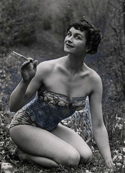 Daphne Selfe quyến rũ từ khi còn trẻ.