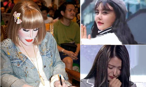 Những chiếc mũi kỳ dị của dàn nghệ sĩ châu Á