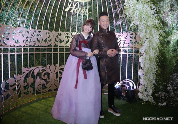 3 trang phục cưới đồng điệu 'từ đầu đến chân' của Trấn Thành - Hari