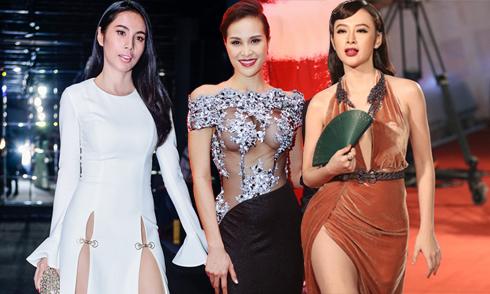 10 bộ cánh sexy gây ồn ào nhất showbiz Việt 2016