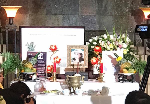 Lễ viếng và di quan của bà Đặng Tuyết Mai diễn ra vào ngày 29/12 (giờ địa phương) tại Westminster Memorial Park, California. Nguồn: ngoisao.vn.