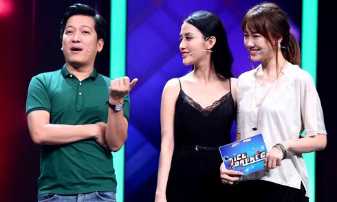 Trường Giang 'xéo xắt' khi thấy Hari Won thân thiết với Mai Hồ