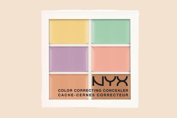 Bảng kem che khuyết điểm NYX Color Correcting Concealer Palette