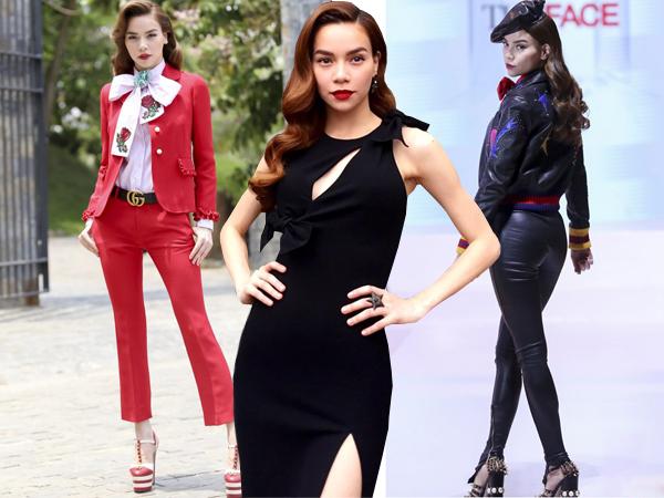 Qua The Face Vietnam mùa giải đầu tiên, Hồ Ngọc Hà thể hiện xuất sắc vai trò huấn luyện viên và trở thành mỹ nhân nổi bật trong các chương trình truyền hình thực tế ở năm 2016.