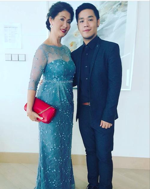 Mẹ chồng Hà Tăng