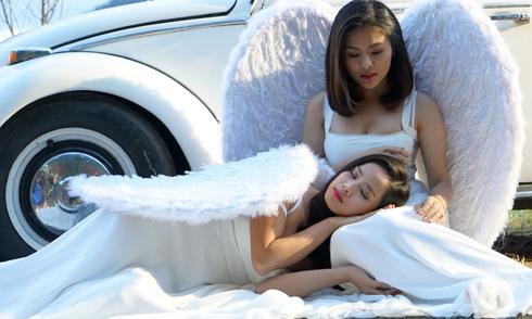 Vân Trang hóa thiên thần trên màn ảnh rộng