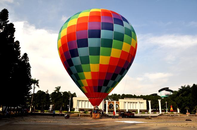 Lễ hội khinh khí cầu đón Tết tại Sài Gòn
