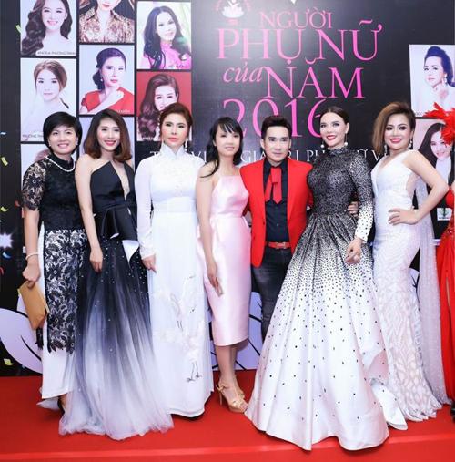 Mai Phương Trang rạng rỡ tại sự kiện Người phụ nữ của năm 2016 - ảnh 4