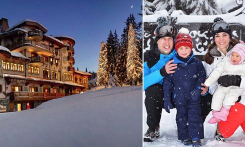 Khu trượt tuyết 'thơm lây' nhờ chuyến đi của gia đình William - Kate