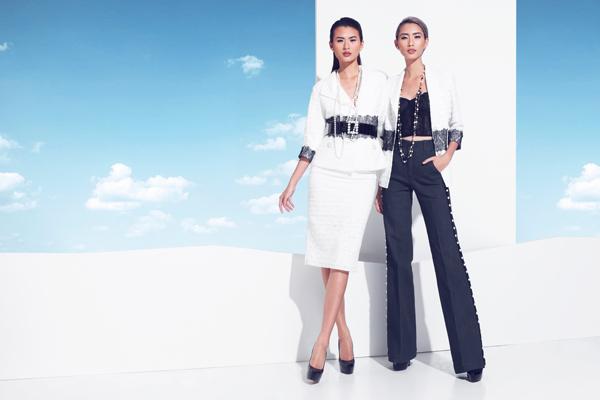 Áo jacket ứng dụng nhiều cách phối đa dạng với chất liệu vải cotton cao cấp phối cùng ren.