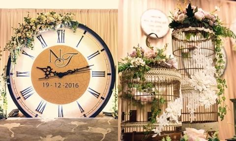 Tiệc cưới độc đáo với chủ đề 'quay ngược thời gian' ở Sài Gòn