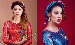 Lilly Nguyễn gợi ý áo dài cách tân năng động cho cô dâu 2017