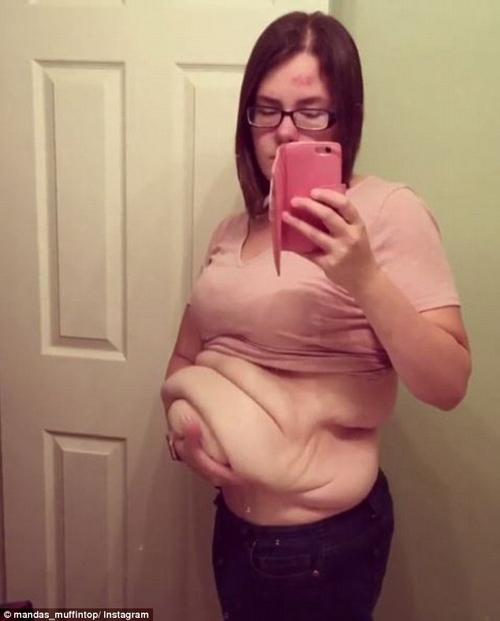 Tuy nhiên, quá trình giảm cân không khiến cô