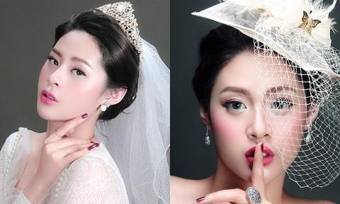 Cô dâu biến hóa với 3 style trang điểm