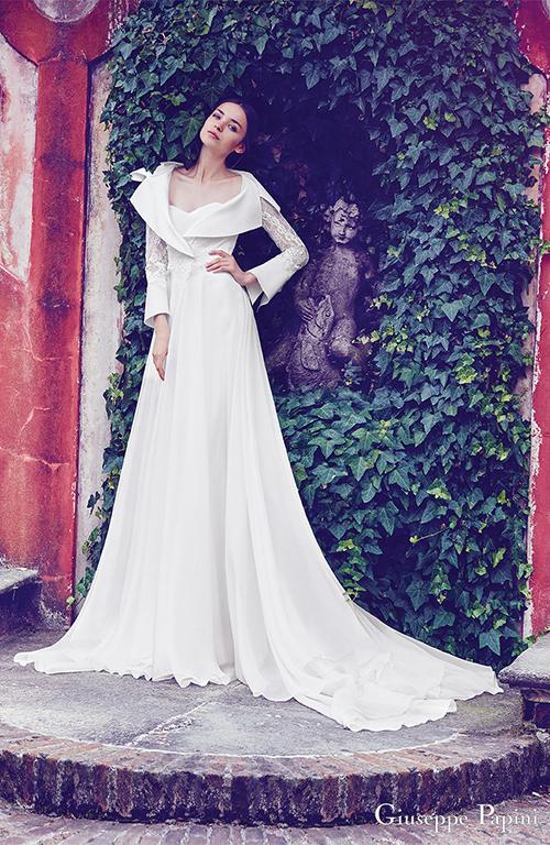 Váy cưới đính nơ to bản gây sốt trong mùa cưới 2017