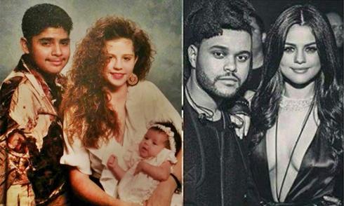 Bạn trai mới của Selena Gomez giống hệt bố cô thời trẻ