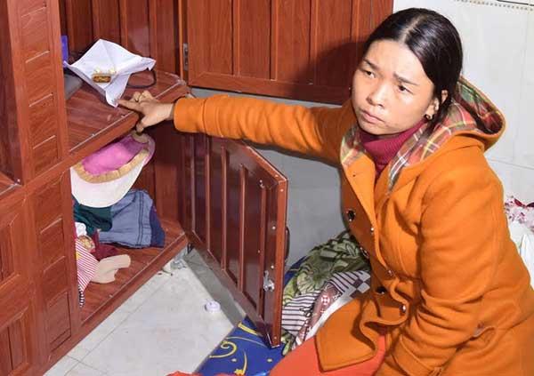 Phan Thị Hòa chỉ nơi cất giấu tài sản do trộm cắp mà có.