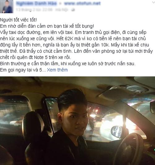hanh-dong-dep-cua-tai-xe-taxi-duoc-cong-dong-khen-ngoi