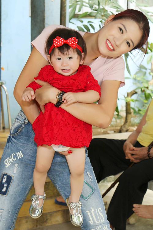 Trang Trần đón sinh nhật giản dị bên con gái - ảnh 9