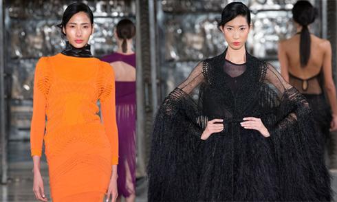Hoàng Thùy, Trang Phạm sóng đôi catwalk ở London Fashion Week