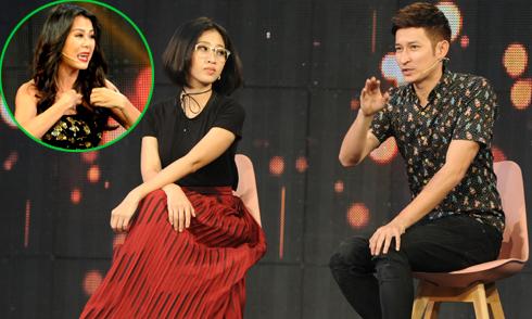 Huy Khánh, Liêu Hà Trinh 'chặt chém' Nam Thư