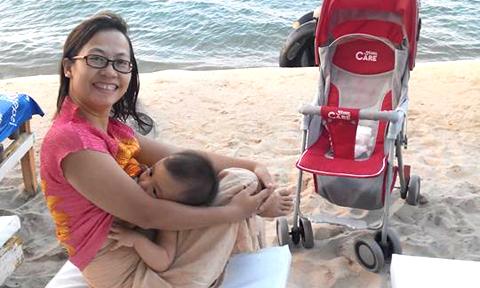 Hai lần vượt cạn trong tâm trạng phơi phới của mẹ Việt ở Lào