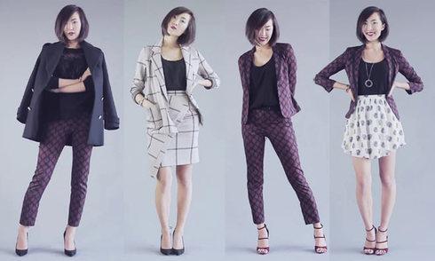 2 bộ suit và 6 cách mix linh hoạt