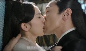 Màn hôn sâu của Dương Mịch, Triệu Hựu Đình gây xôn xao