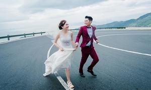 Chủ nhân hôn lễ 10 tỷ đồng khoe ảnh cưới
