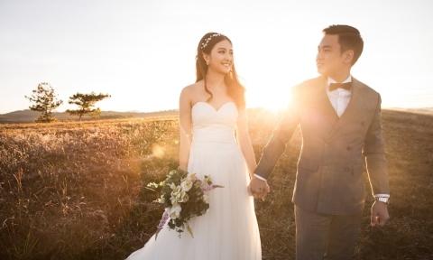 Bộ ảnh cưới ở Đà Lạt của chàng công an 9X